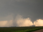Two tornadoes